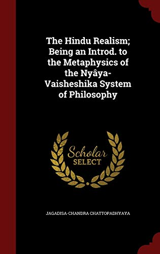9781298792990: The Hindu Realism; Being an Introd. to the Metaphysics of the Nyâya-Vaisheshika System of Philosophy