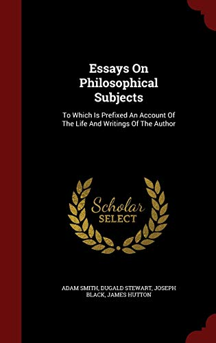 9781298838636: Essays On Philosophical Subjects: To Which Is Prefixed An Account Of The Life And Writings Of The Author