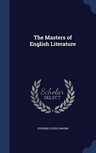 9781298894786: The Masters of English Literature