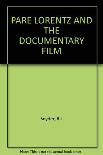 9781299008601: Pare Lorentz And The Documentary Film