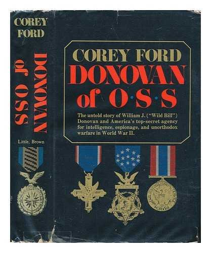 Donovan of OSS (1299064078) by Corey Ford