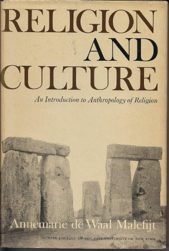 9781299195103: Religion and Culture: An Introduction to Anthropology of Religion