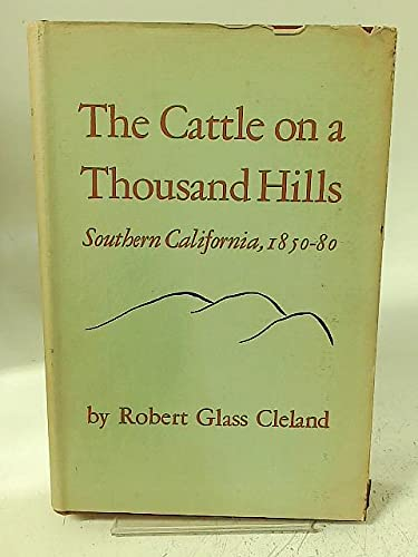 9781299195608: The Cattle On A Thousand Hills