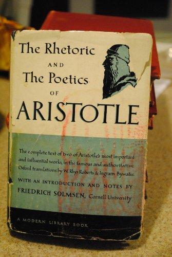 9781299218772: The Rhetoric and Poetics of Aristotle