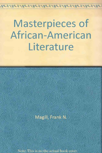 9781299341708: Masterpieces Of African-american Literature