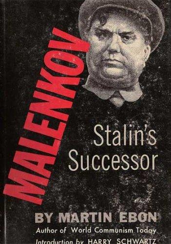 9781299452114: Malenkov: Stalin's Successor