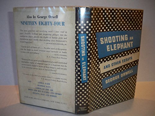 9781299495944: Shooting an elephant, and other essays