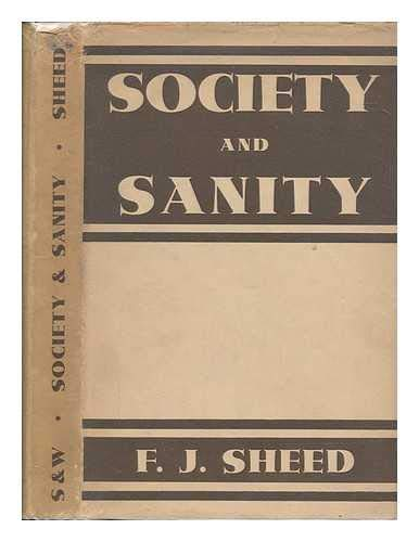 9781299617155: Society and sanity.