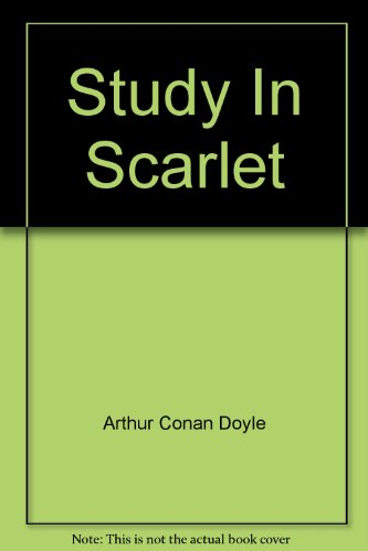 9781299824379: Study In Scarlet