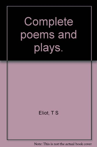 9781299983250: Complete poems and plays.