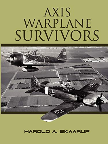 9781300067443: Axis Warplane Survivors