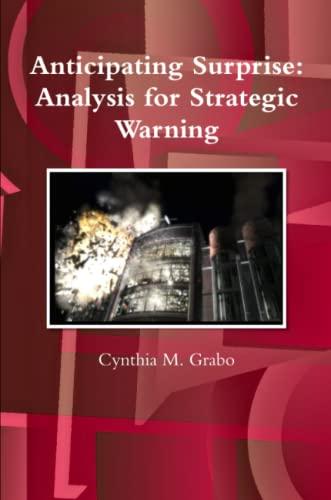 9781300078586: Anticipating Surprise: Analysis for Strategic Warning