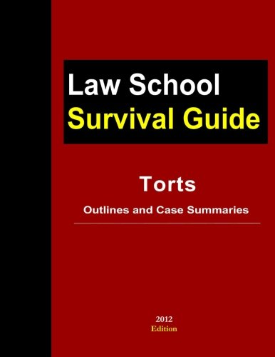 9781300105459: Torts: Outlines And Case Summaries