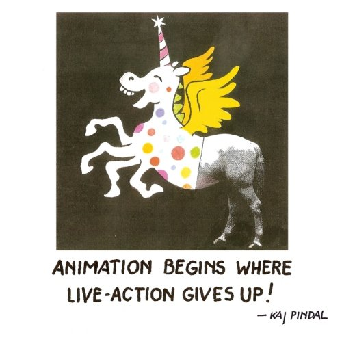 Animation Begins Where Live-Action Gives Up! - Kaj Pindal