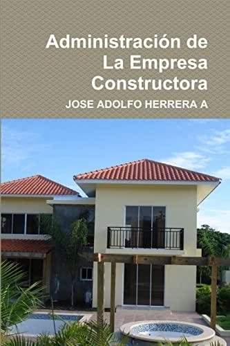 9781300341628: Administración de La Empresa Constructora
