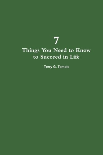 9781300348368: 7 Things You Need to Know to Succeed in Life