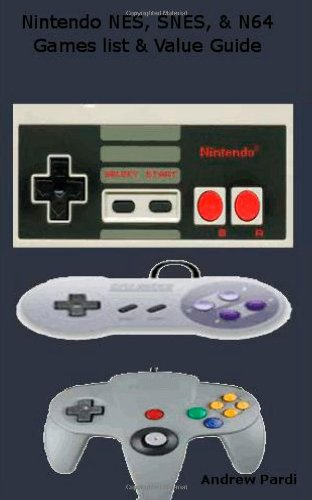 9781300361961: Nintendo Nes, Snes, amp; N64 Price Guide