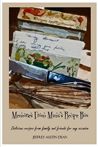 9781300752394: Memories From Mimi's Recipe Box