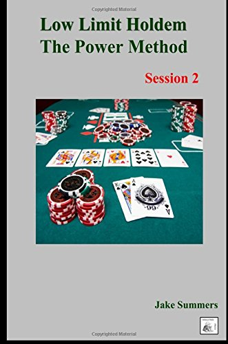 9781300753889: Low Limit Holdem The Power Method: Session 2