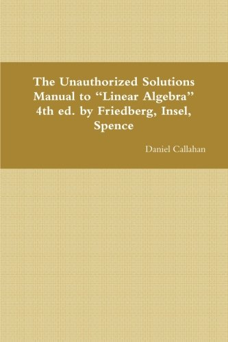 9781300785156: The Unauthorized Solutions Manual to