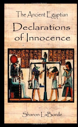 9781300865469: The Ancient Egyptian Declarations of Innocence