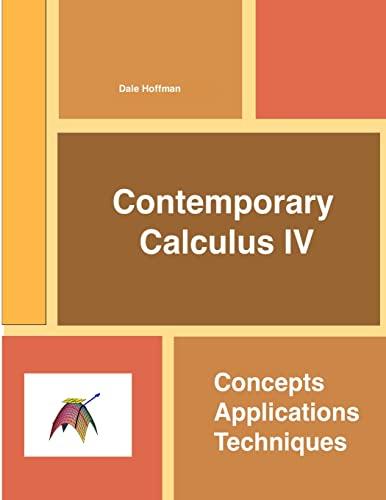 9781300901488: Contemporary Calculus IV