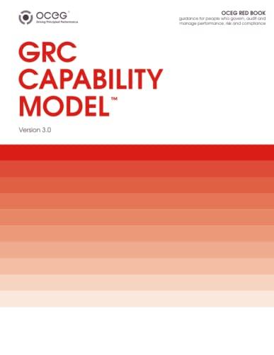 9781300902881: GRC Capability Model (Red Book) in Paperback