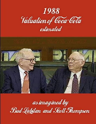 9781300916260: 1988 Valuation of Coca-Cola