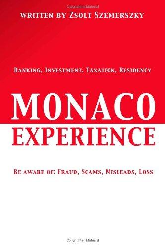 9781300936855: Monaco Experience