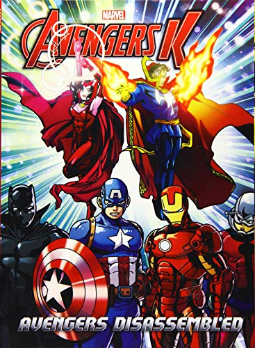 Avengers K 3: Avengers Disassembled: Park, Si Yeon/