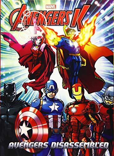 Avengers K Book 3: Avengers Disassembled: Park, Si Yeon;
