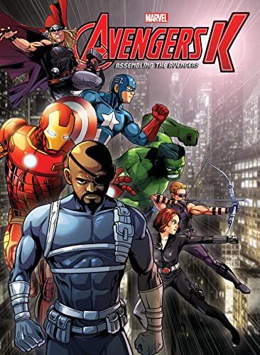Avengers K Book 5: Assembling the Avengers: Park, Si Yeon;