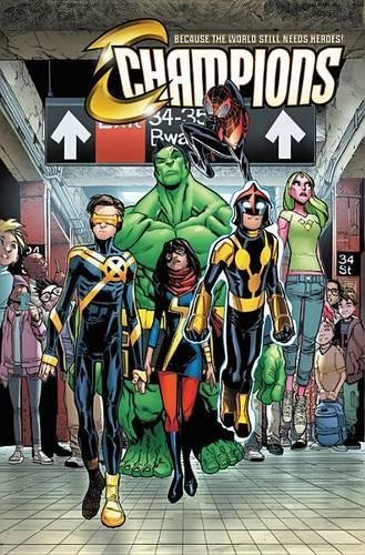 Champions Vol. 1: Change the World 9781302906184 One of the great team names in Marvel history returns, in incredible new fashion! During the fallout of Civil War II, Ms. Marvel, Nova a