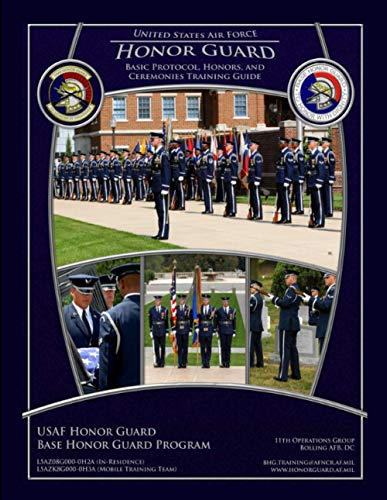 9781304107770: Usaf Honor Guard Training Guide