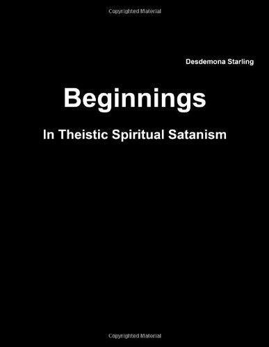 9781304300034: Beginnings In Theistic Spiritual Satanism