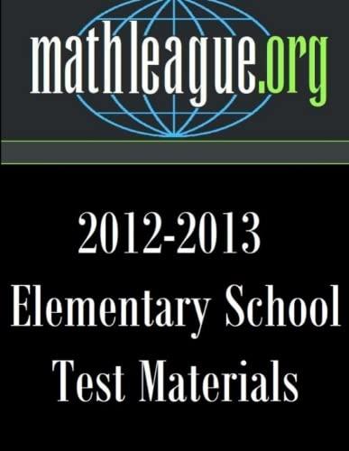 9781304389381: Elementary School Test Materials 2012-2013