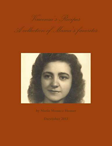 9781304639615: Vincenza's Recipes