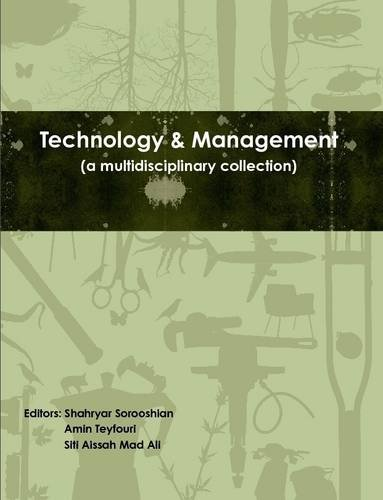 Technology & Management: Shahryar Sorooshian; Amin