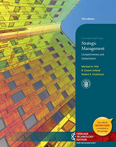 9781305000667: Strategic Management: Competitiveness and Globalization, 11th Edition (Not Textbook, Access Code Only)