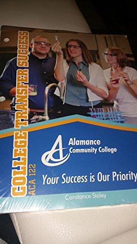 9781305001343: College Transfer Success, Alamance Community College