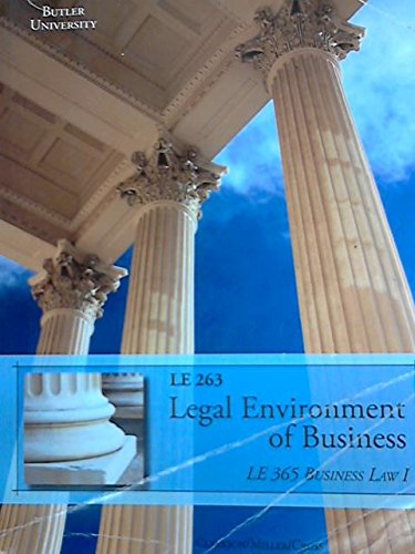 9781305002029: Legal Environment of Business