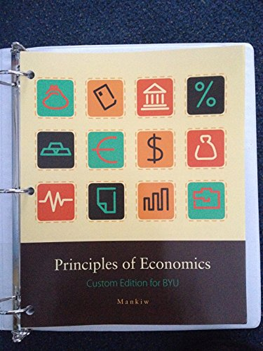 9781305002104: Principles of Economics - Custom Edition for BYU by N. Gregory Mankiw
