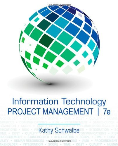 9781305002364: Information Technology Project Management (Not Textbook, Access Code Only) By Kathy Schwalbe 7th Edition