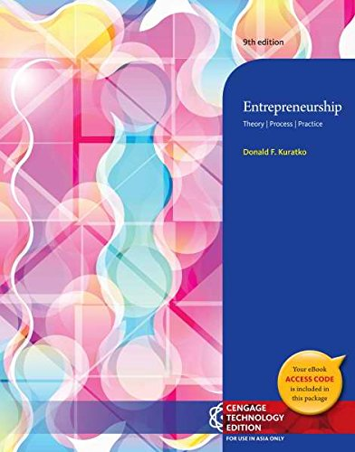 9781305002616: Entrepreneurship : Theory, Process, and Practice 9E (Not Textbook, Access Code Only)