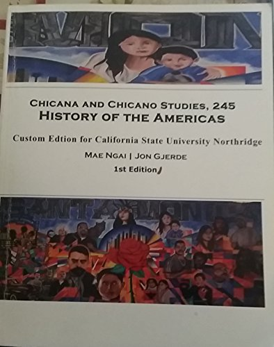 9781305003064: Chicana and Chicano Studies, 245 History of the Americas