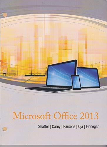 9781305004016: Microsoft Office 2013