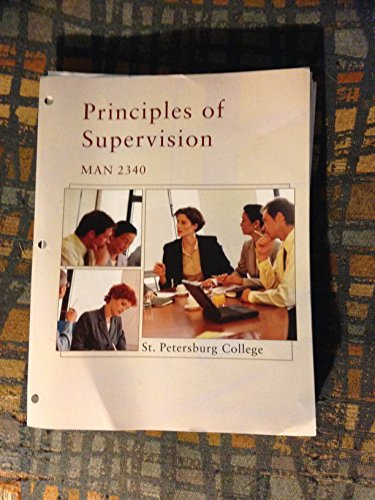 9781305004399: Principles of Supervision