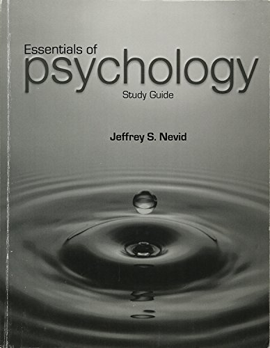 9781305006683: Essentials of Psychology Study Guide