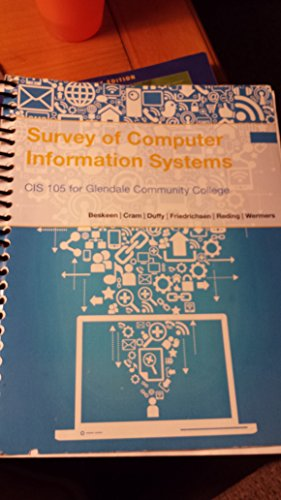 9781305007192: Survey of Computer Information Systems