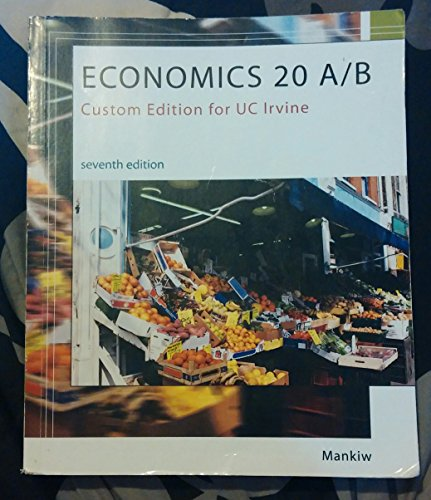 9781305008397: Economics 20A/B Seventh Edition (Custom Edition for UC Irvine)